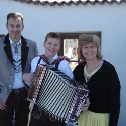 Albin, Sohn und Erika